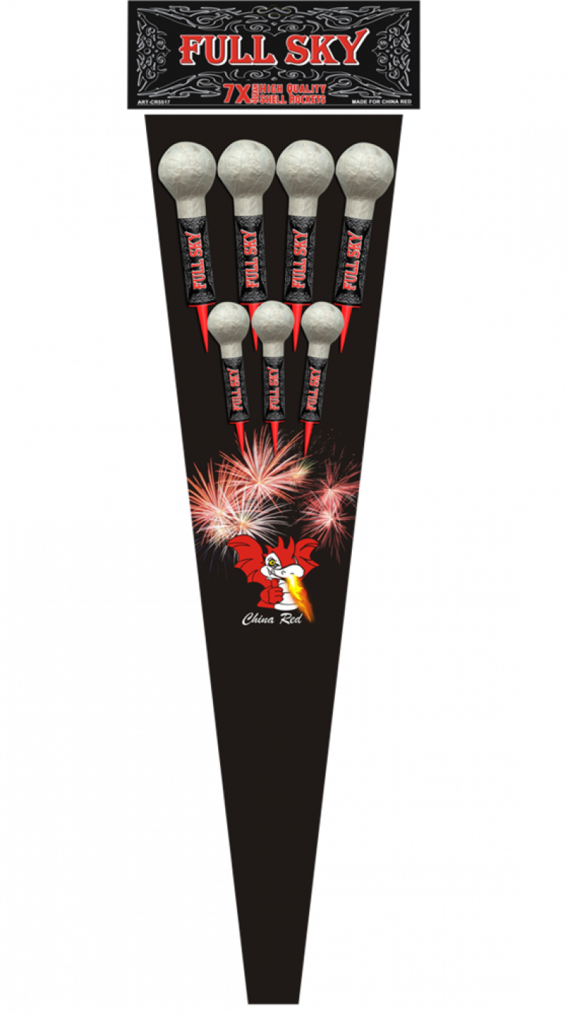 Full Sky Shell Rockets