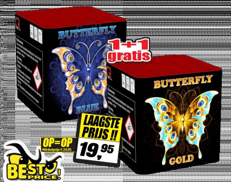 Butterfly  1 + 1 gratis