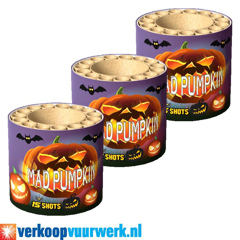 Mad pumpkin 3 voor 1