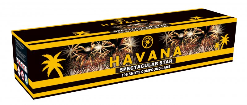 Havana Spectacular Star 196 SHOTS!