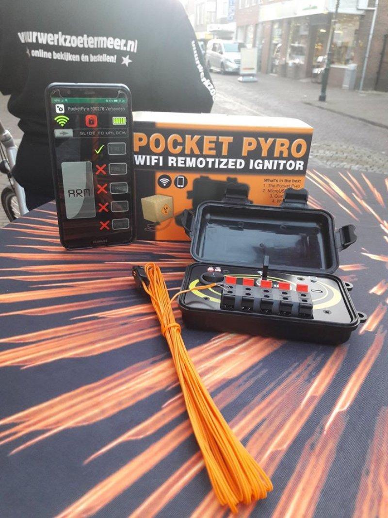 Pocket Pyro schietsysteem