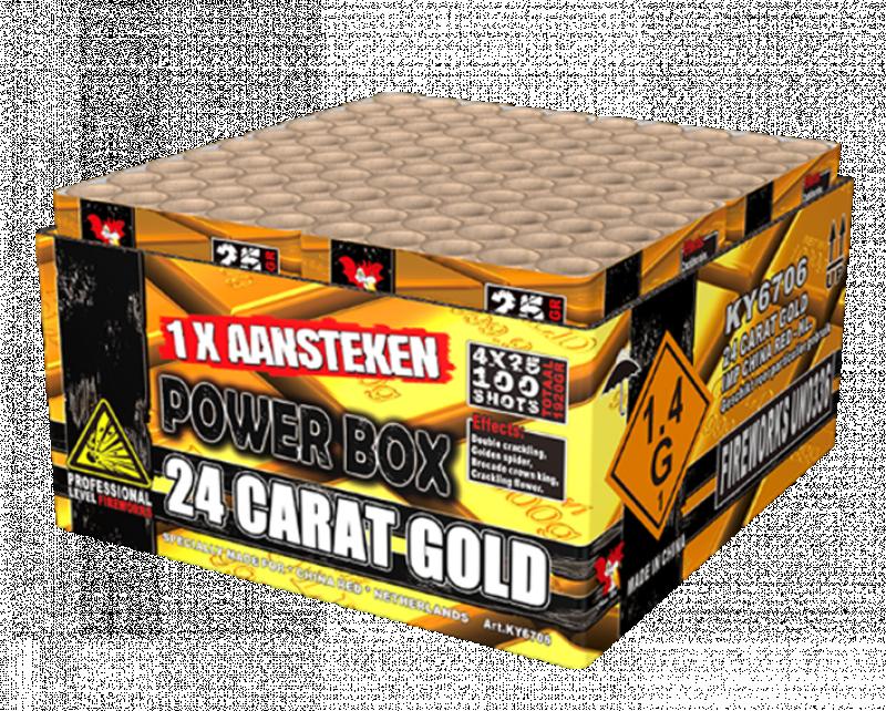 ART. 6706 24 Carat Gold, 100 shots compound