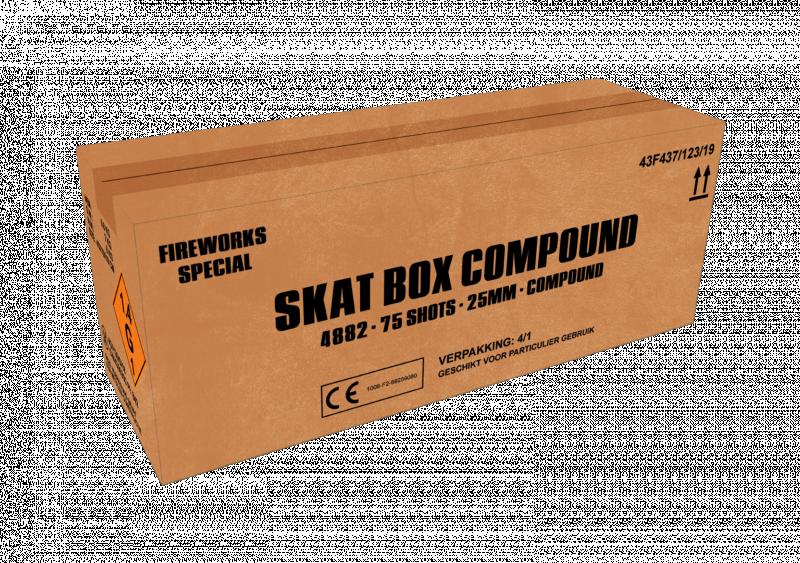 ART. 4882 Skat box, 75 shots compound