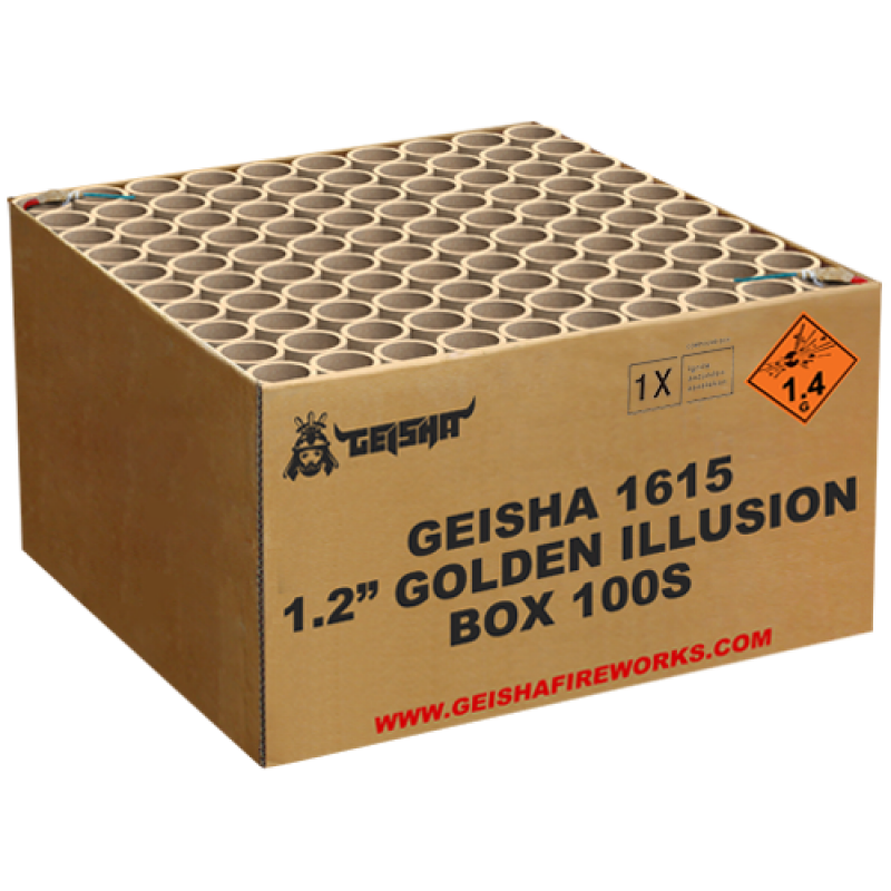 "1,2"" Golden Illusion"