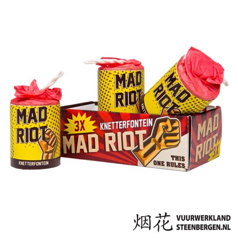 Mad Riot Crackling Fountains