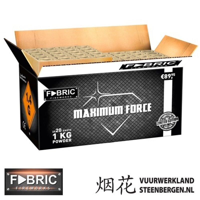 Maximum Force 40's Box