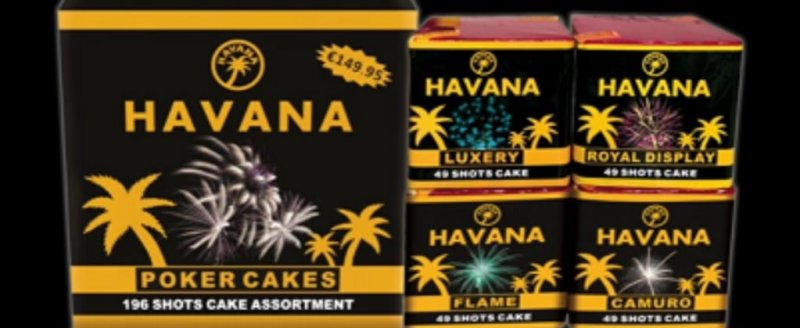 Havana Poker Cakes