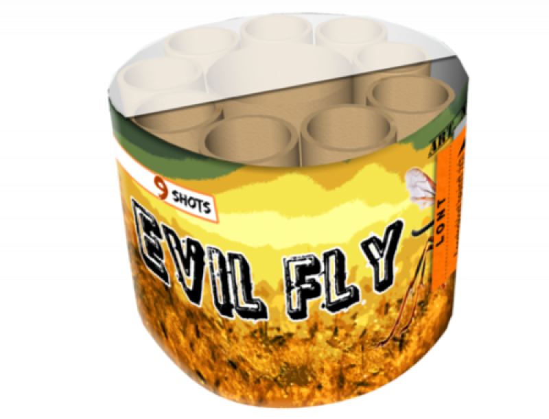 ART. 3512 Evil Fly, 9 shots