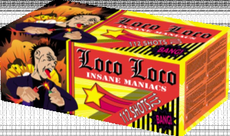 ART. 1030 LocoLoco, 112 shots compound