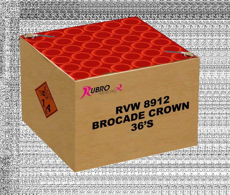 BROCADE CROWN 36 SCHOTS