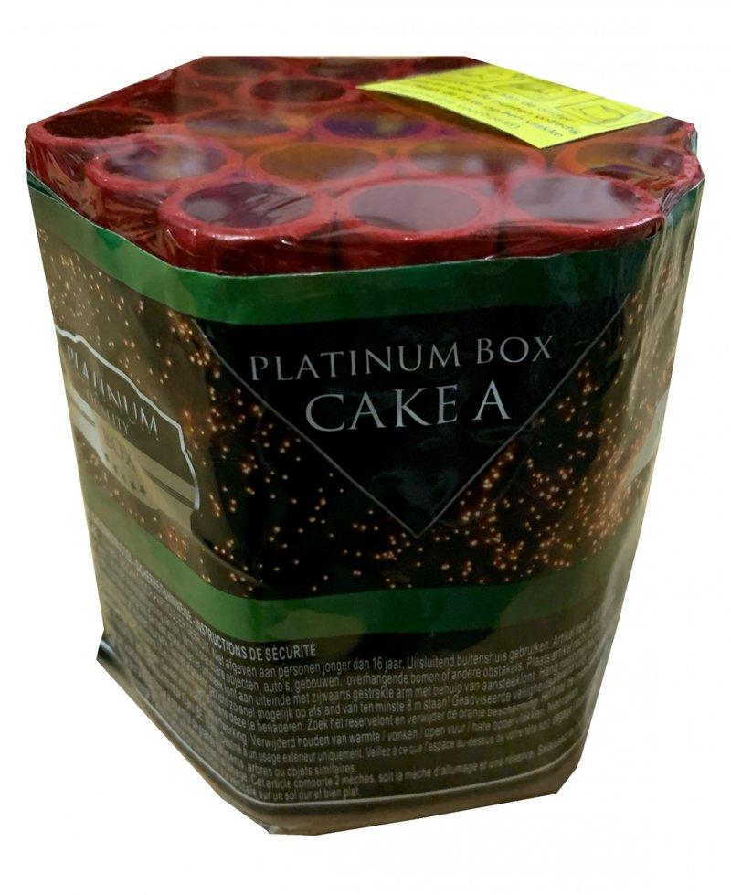 Art. 1901 Platinum groen cake A, 19 shots