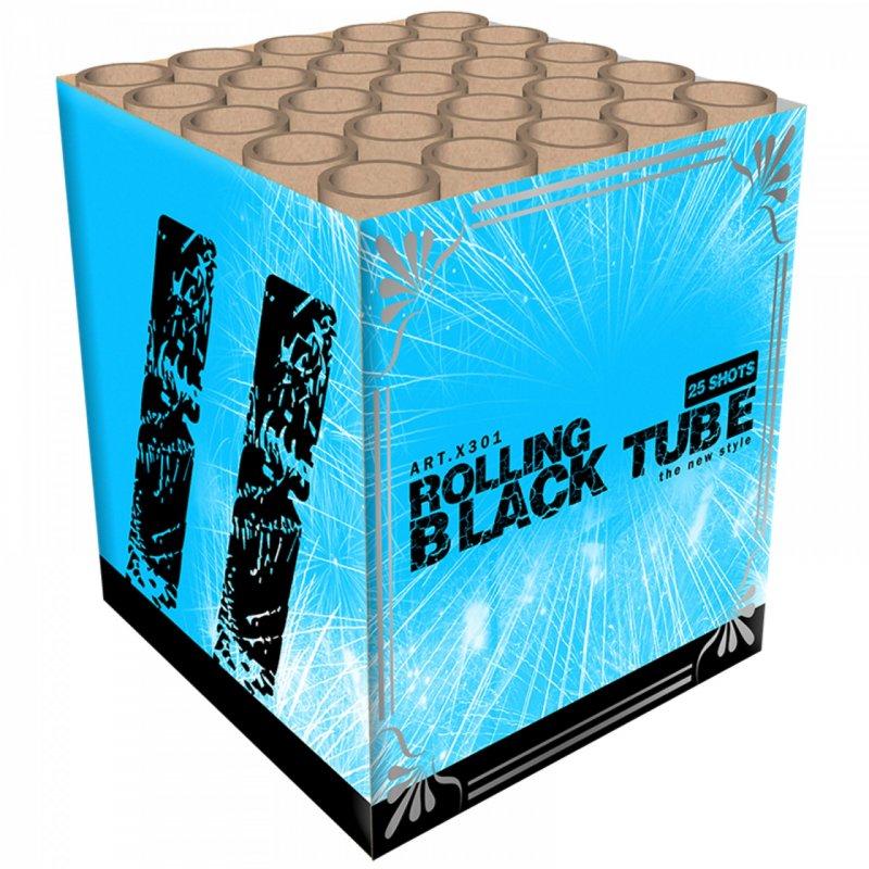 ART. 301 Rolling Black Tube, 25 shots