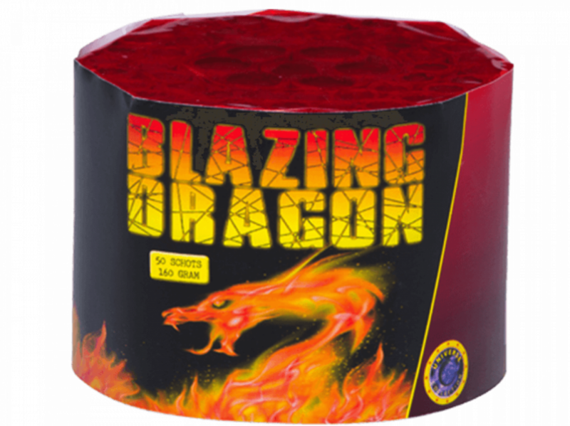 ART. 3855 Blazing Dragon, 50 shots