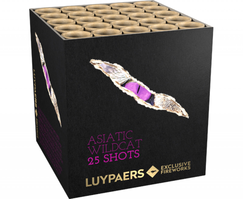 Asiatic Wildcat 25sh