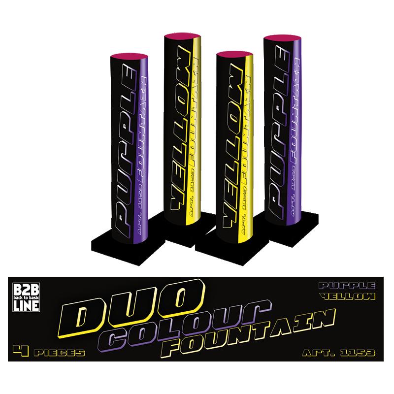 B2B Duo Colour Fontain