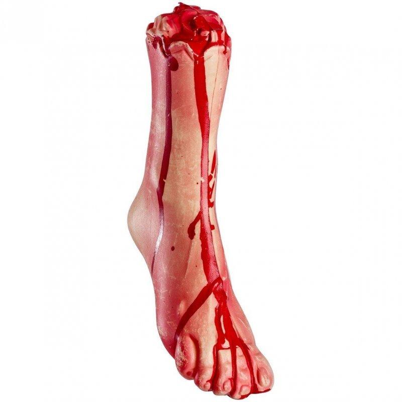 Bloody foot (pvc) 30cm