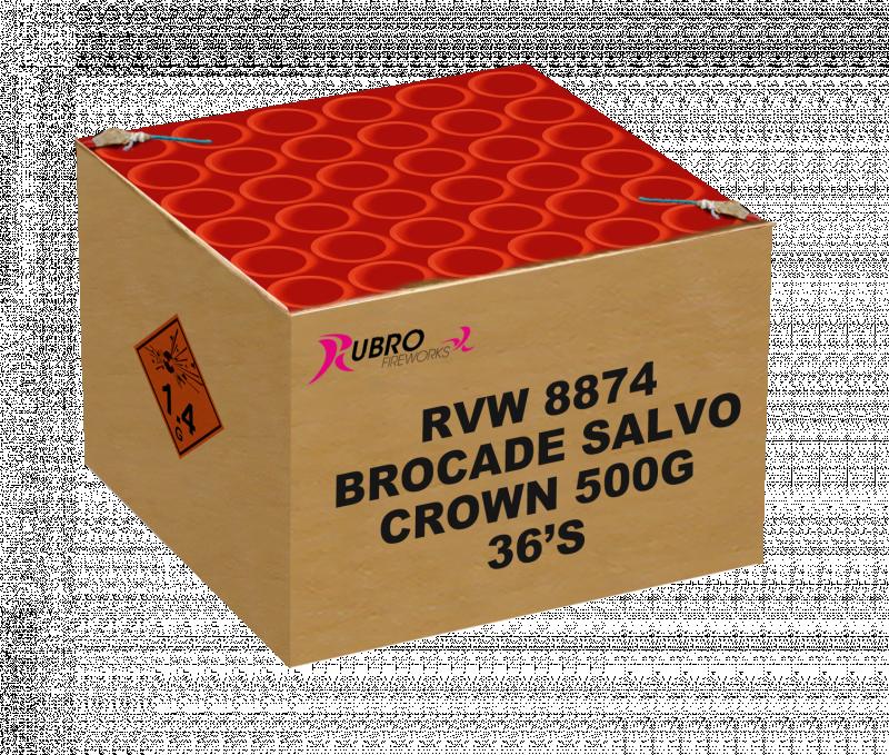 Brocade Salvo Crown