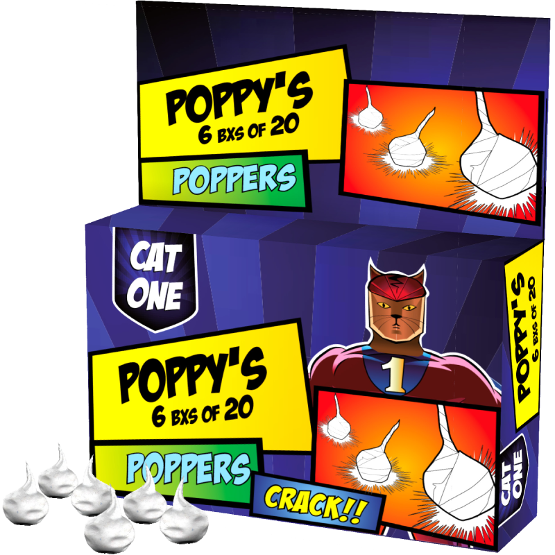 CAT ONE Poppy's
