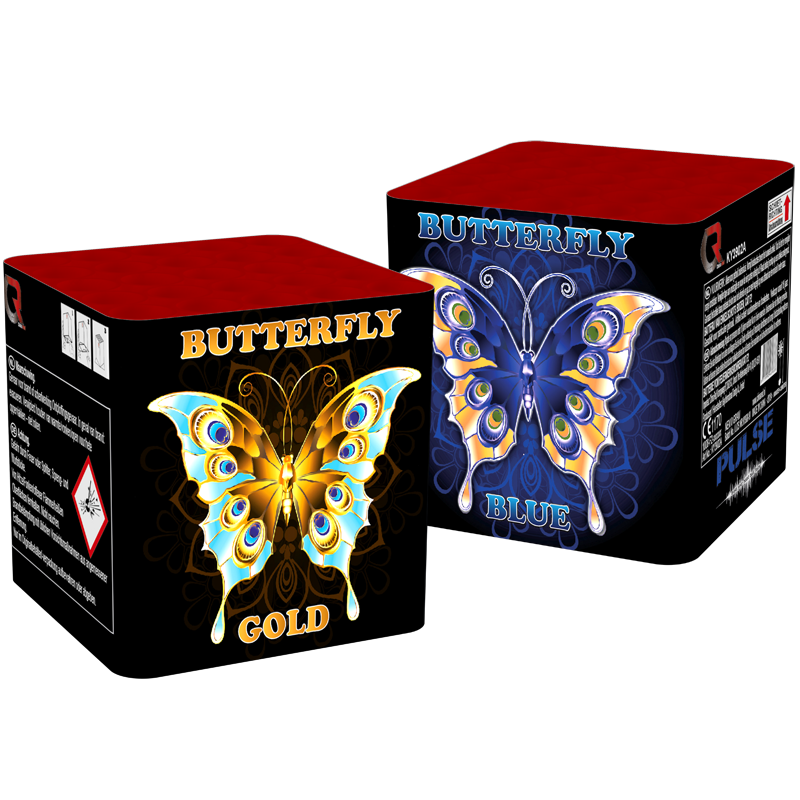 Butterfly Blue & Butterfly Gold
