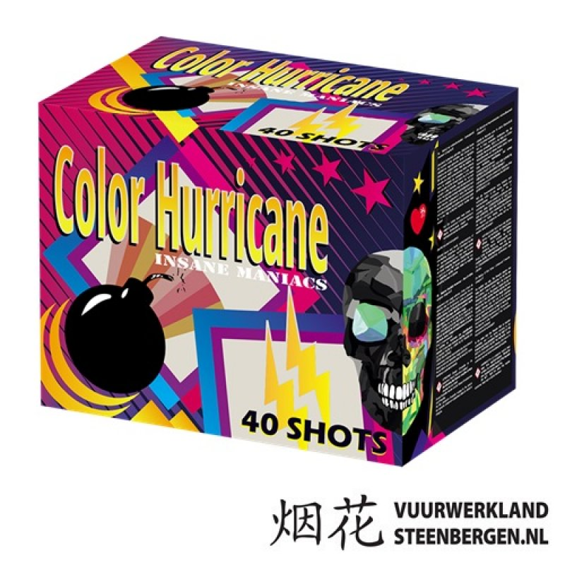 Color Hurricane Box