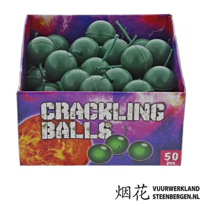 Crackling Balls 50st.