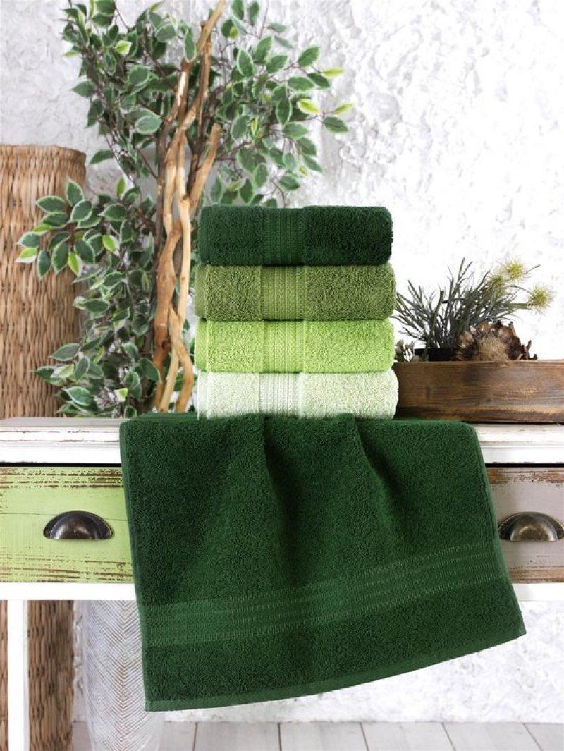 Ephemeris badhanddoek 70x140 cm 100% Katoen Groen