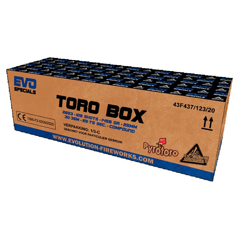 Toro Box 108 shots 25mm