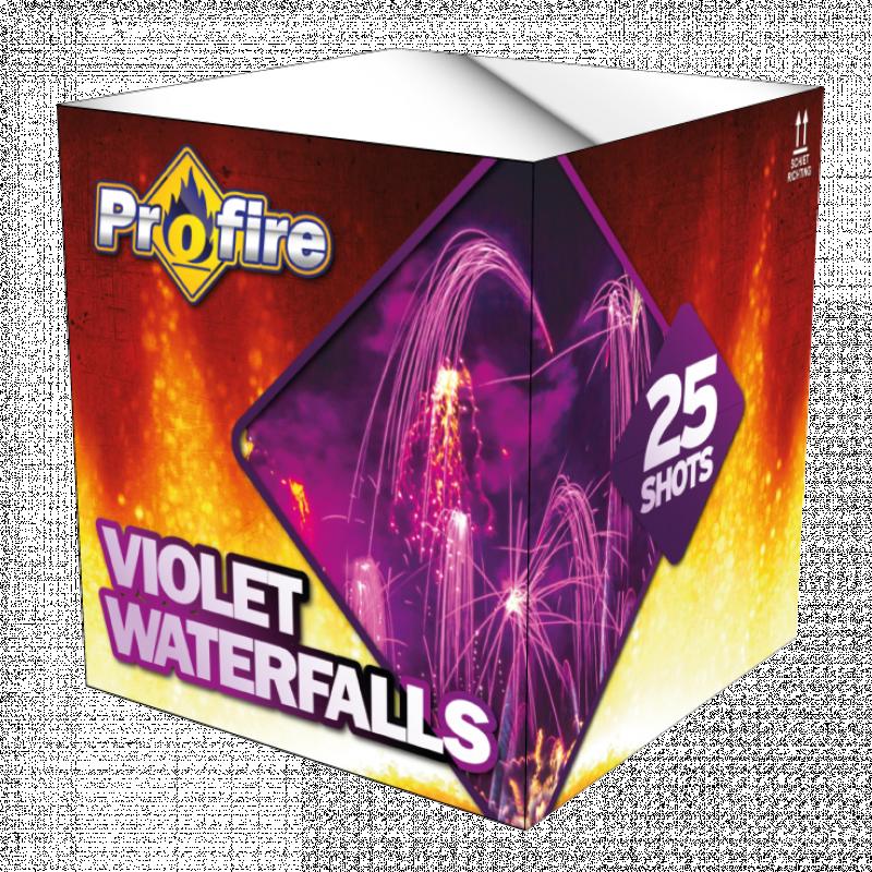 Violet Waterfalls