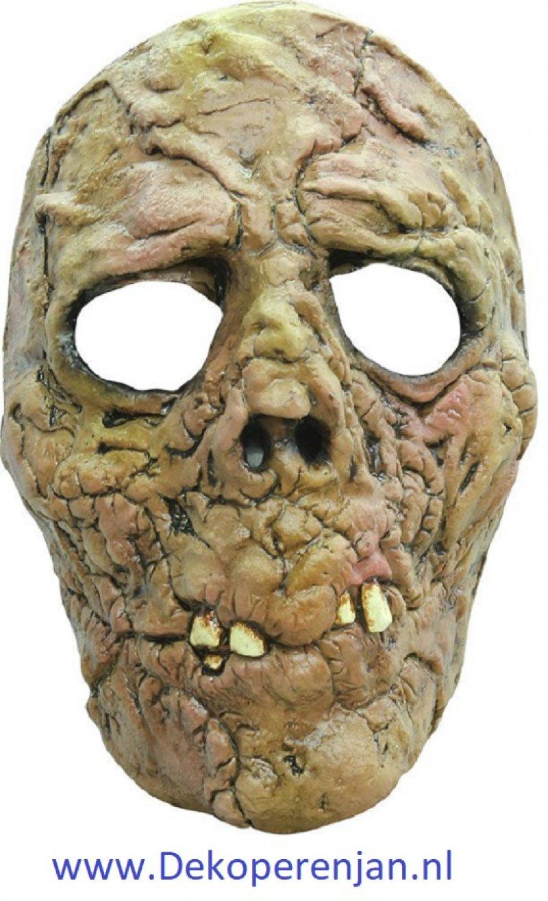 Face mask zombie burn