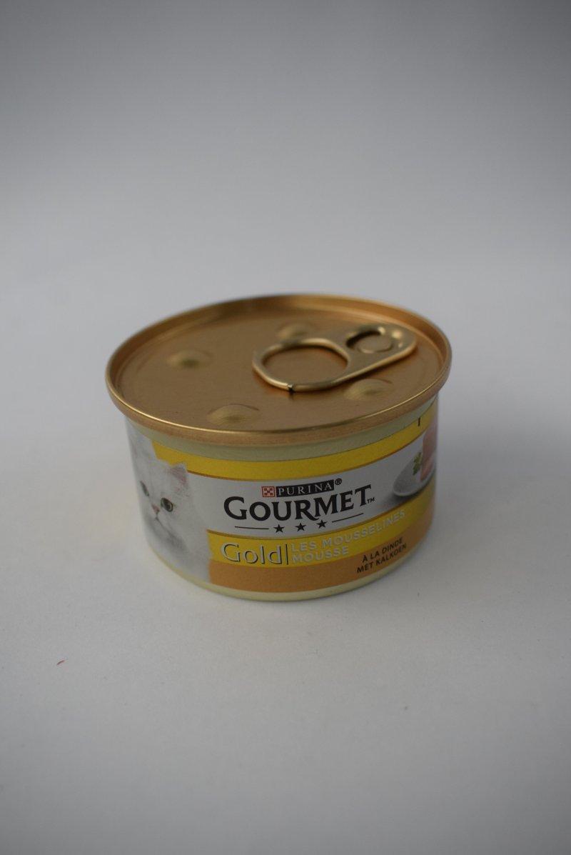 Gourmet gold mousse kalkoen