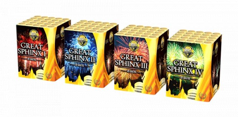 Great sphinx - Volle doos