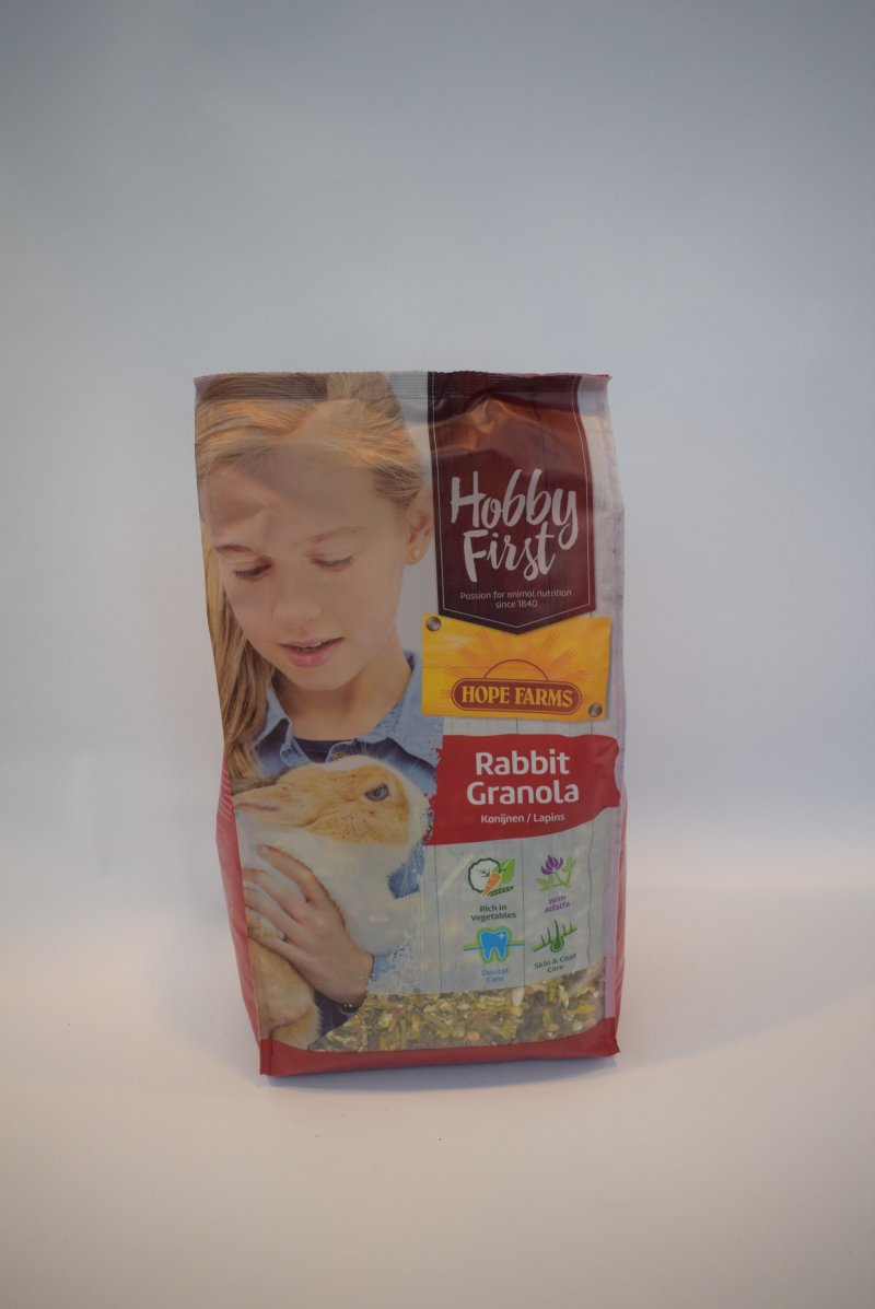 Hobby first rabbit granola