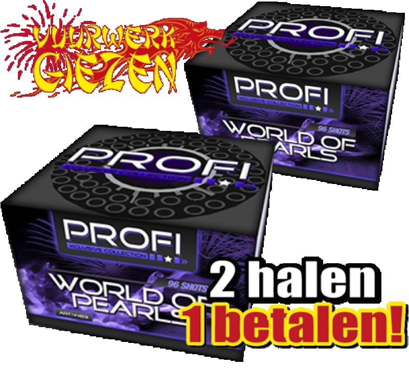 WORLD OF PEARLS 2 HALEN 1 BETALEN