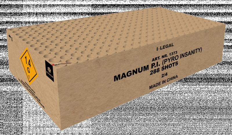 Magnum P.I  (pyro insanity)