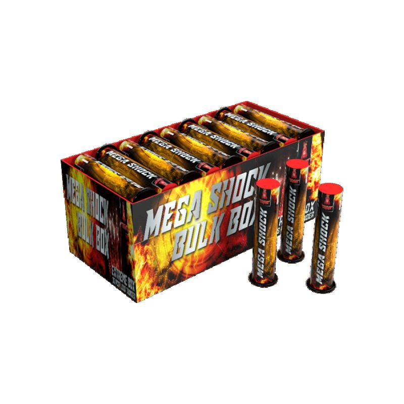 Mega Shock Bulkpak (36 stuks)