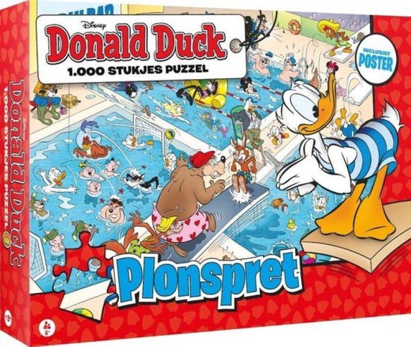 Puzzel Donald Duck 1000 stukjes