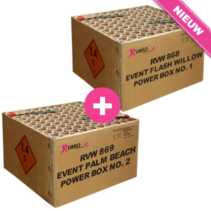 Event Best Of Power Box No. 1 & No. 2 - 2x 100's (compound) New