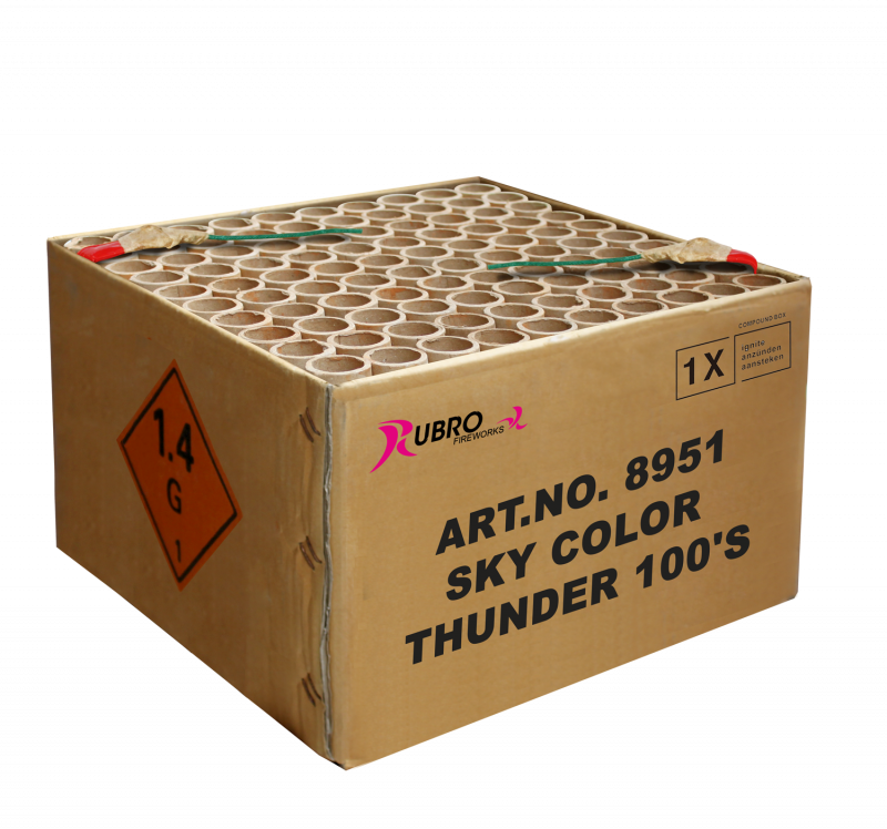 Sky Color Thunder 100's