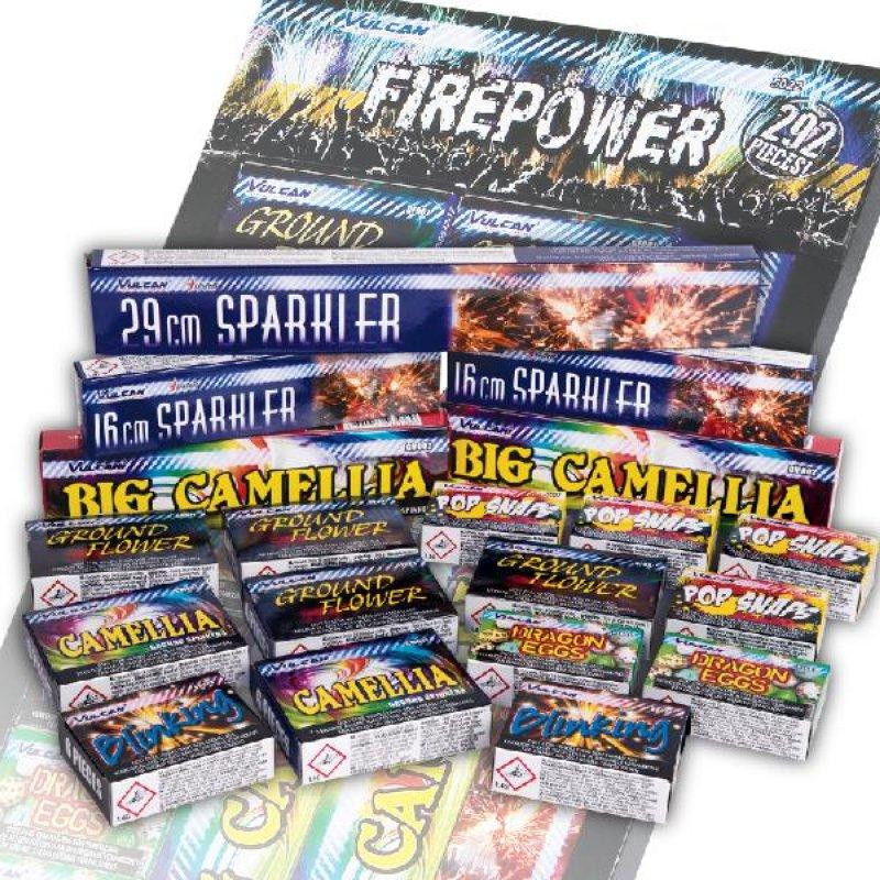 Firepower assortment - 292 delig