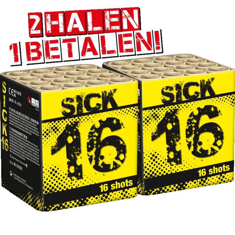 Sick 16 2=1